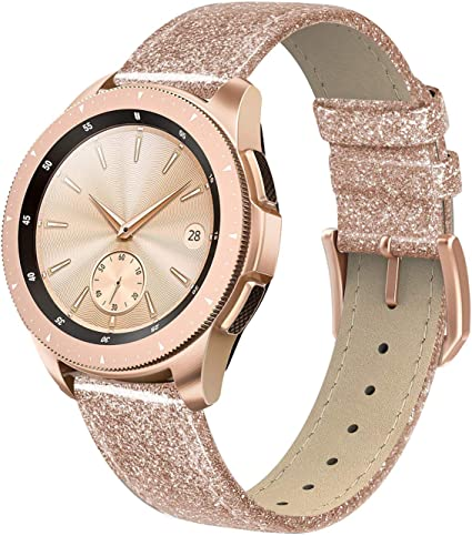 Amazon.com: Swees - Correa de cuero compatible con reloj ...