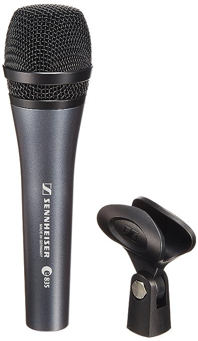 4 opinioni per Sennheiser e 835 Microfono Professionale Dinamico Cardioide Per Voce + Supporto