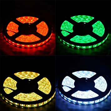 Amazon 10m smd 5050 rgb led color changing strip light 10m smd 5050 rgb led color changing strip light wisdomcreate 328ft led strip lights aloadofball Image collections