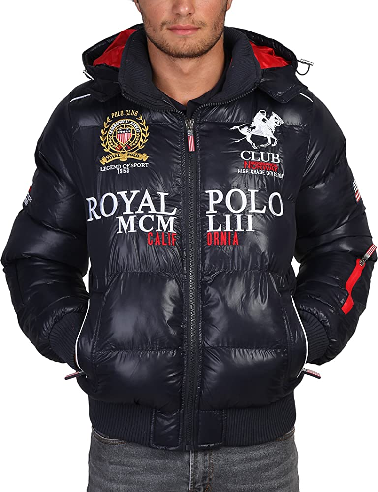Geographical Norway - Chaqueta Plumas Modelo Alabama Royal Polo ...