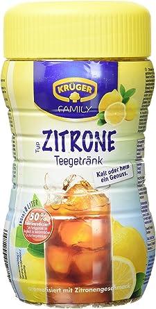 Krüger té tipos de limón, 8 L rendimiento, 6 pack (6 x 400 g lata ...