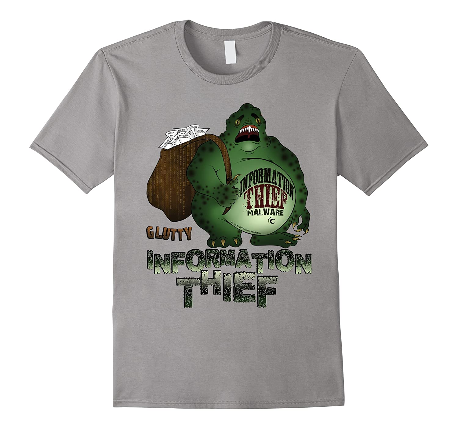 Glutty Information Thief T-Shirt-TJ