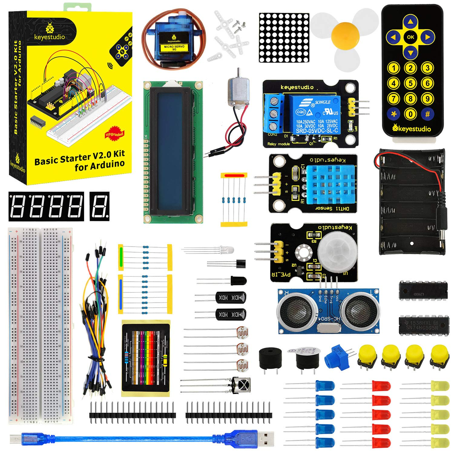 Arduino Kit KEYESTUDIO (7QPX1LY5)