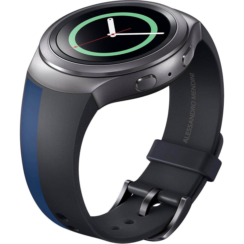 Samsung ET-SRR72MDEGWW - Correa para smartwatch Samsung Gear S2 Sport, diseño Mendini, color marrón oscuro