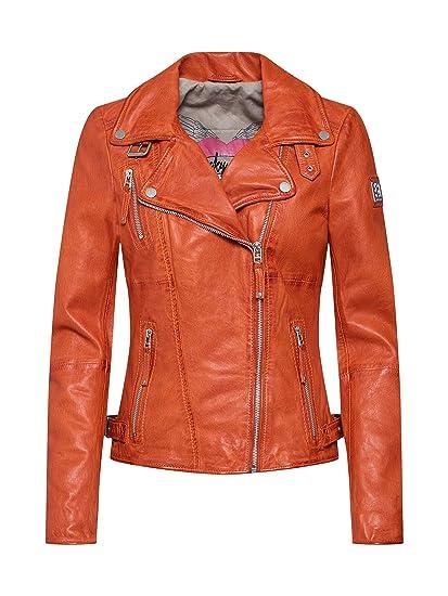 Freaky Nation Biker Princess Giacca Donna  Amazon.it  Abbigliamento e581bd3b529
