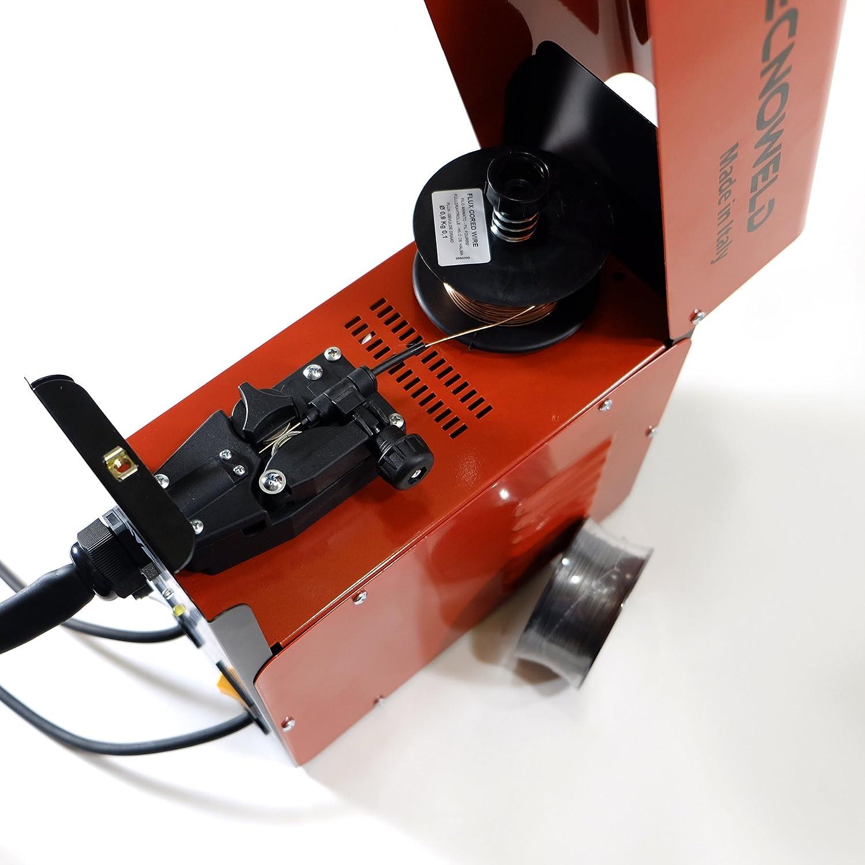Proweltek PR1216 Soldadora inverter para soldadura MIG No Gas, 95 A: Amazon.es: Bricolaje y herramientas