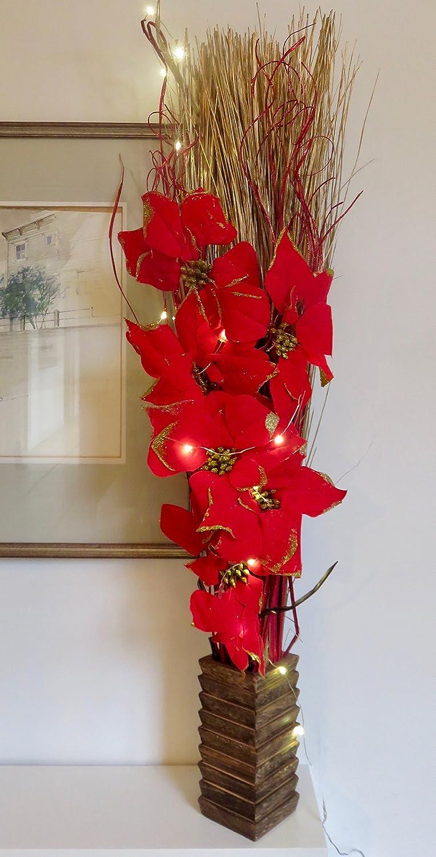 Tricks rot Weihnachtsstern Weihnachten Blumen-Arrangement ...