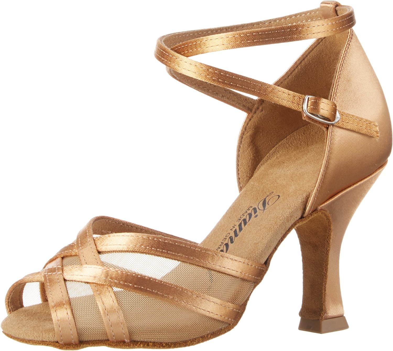 8 US Diamant Womens Boat Shoes Beige Bronze