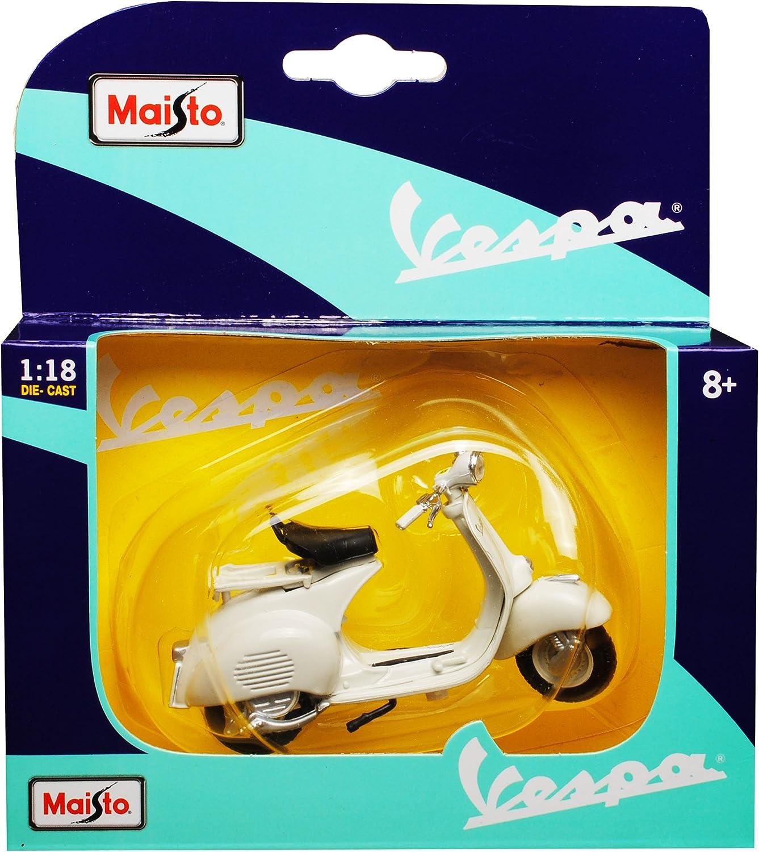 Vespa 50 Special Weiss Beige 1969 1//18 Maisto Modell Motorrad mit oder ohne in..