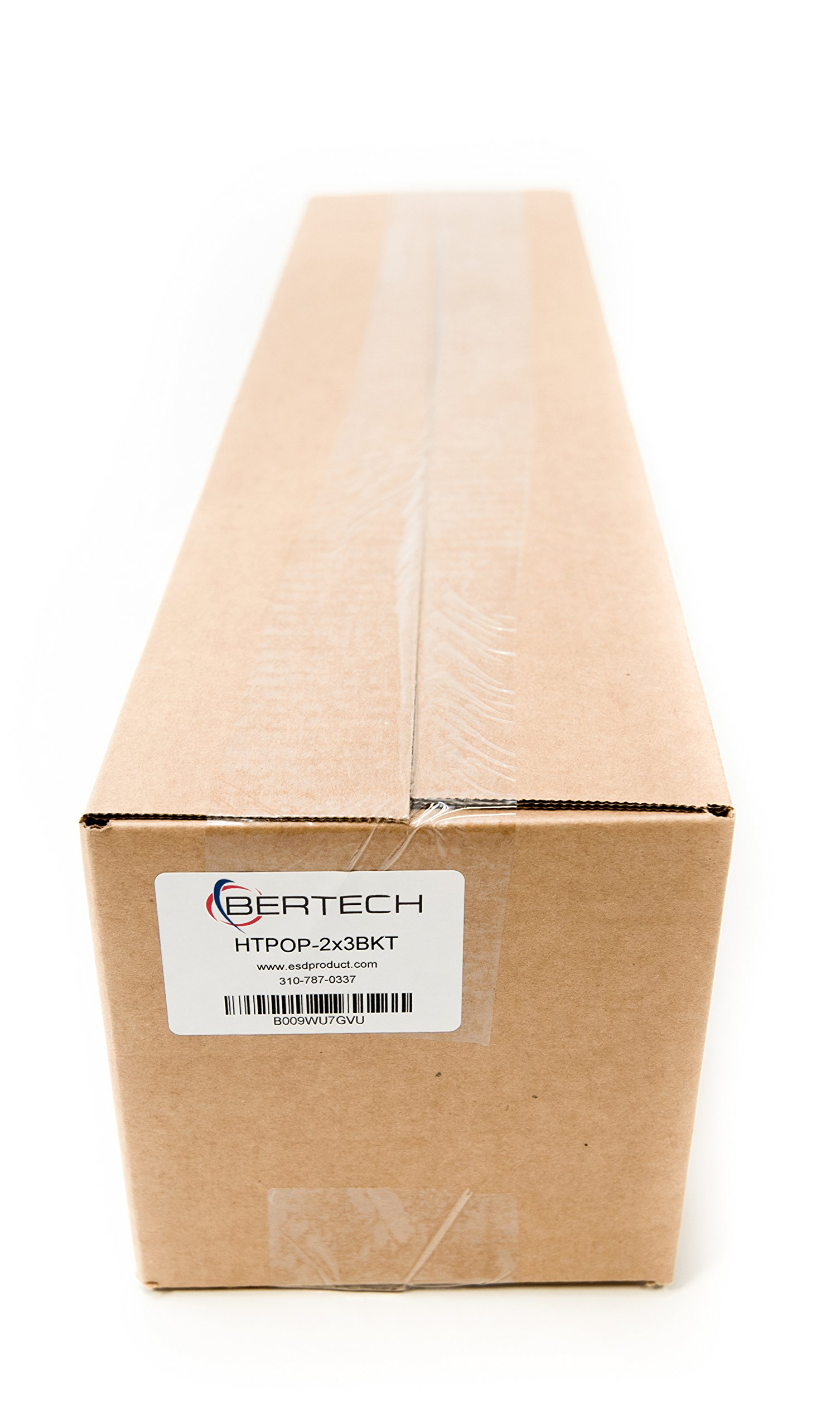 Bertech ESD Foam Mat Kit with a Wrist Strap and Grounding Cord, 2' Wide x 3' Long x 0.375'' Thick, Blue, Made in USA by Bertech (Image #4)