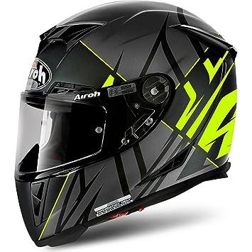 Airoh Casco Integral Casco de Moto GP 500 sectors Yellow Mate XS
