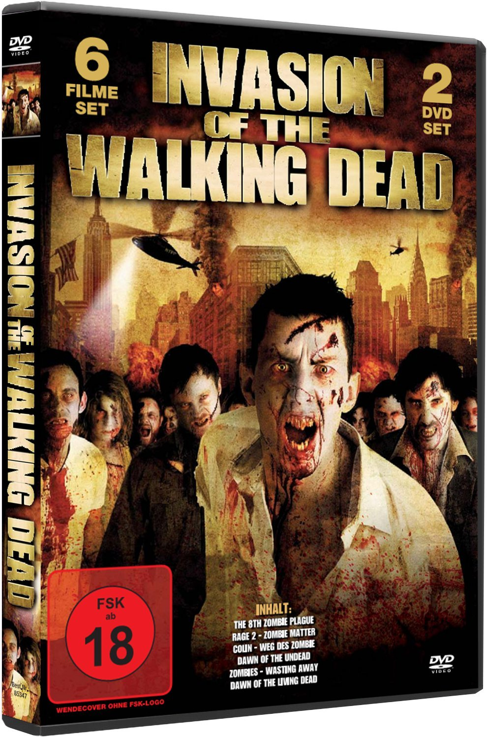 Invasion of the walking Dead Collection 2 DVD BOX Alemania ...