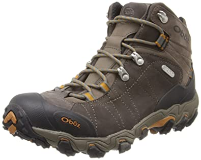 Oboz Men's Bridger Bdry Hiking Boot,Sudan,8 EE US