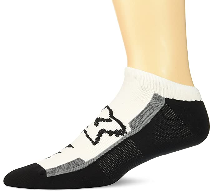 Calcetines Fox Racing: Perf No Show Sock - 3 Pack WH S/M