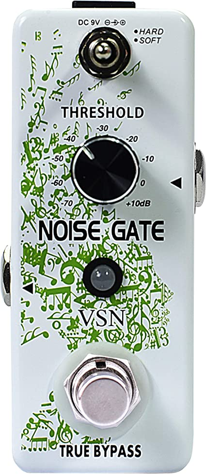 Donner Noise Killer Guitar Effect Pedal Noise Gate Pedal 2 Modes Green