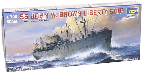 Amazon.com: Trumpeter 1/700 USS SS John W café Liberty Ship ...