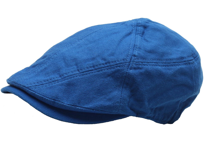 Raon N250 Cotton Wrinkles Basic Style Newsboy Cap Cabbie Flat Golf Gatsby  Driving Hat (Blue) at Amazon Men s Clothing store  4343e477815