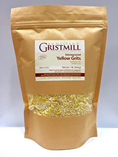product image for Homestead Gristmill — Non-GMO, Chemical-Free, All-Natural, Stone-ground Yellow Corn Grits (2 Pack)