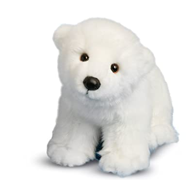 Douglas Marshmallow Polar Bear Plush Stuffed Animal: Toys & Games
