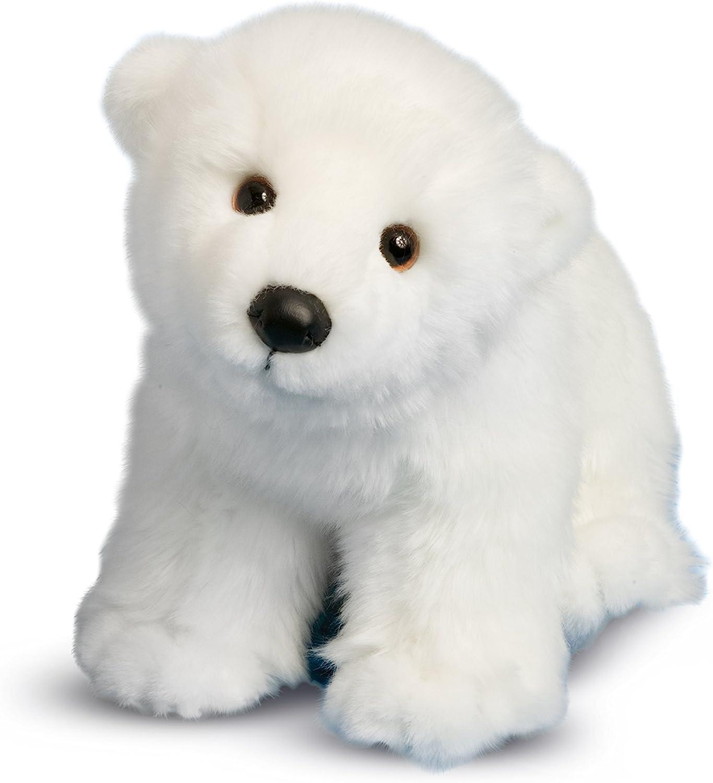 Amazon Com Douglas Marshmallow Polar Bear Cub Plush Stuffed Animal Toys Games