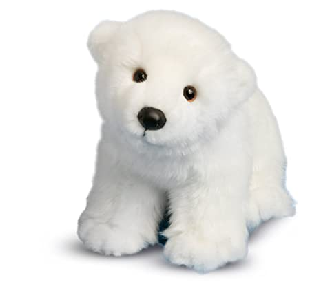 Amazon Com Douglas Marshmallow Polar Bear Toys Games