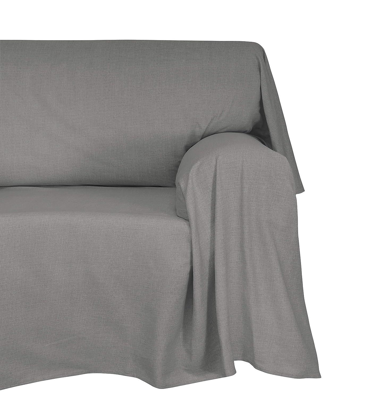 Foular//Manta Decorativa para sof/á Naranja 180/x 270/x 1/cm Cotton /& Color de algod/ón