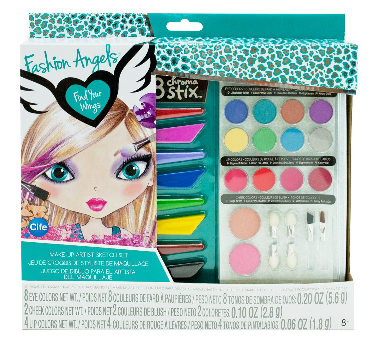 Fashion Angels Set de maquillaje del artista (Cife 86585): Amazon.es ...