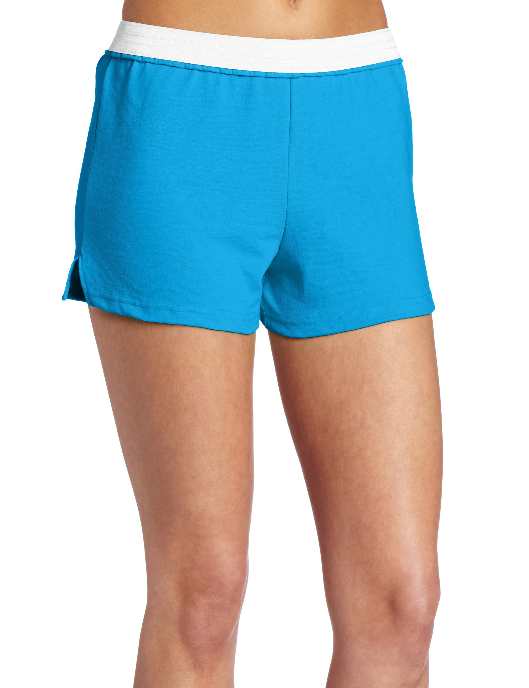 Soffe Juniors Athletic Short, Blue Aster, X-Small