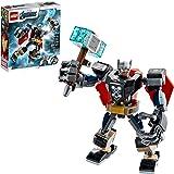 76169 LEGO® Marvel Avengers Classic Armadura Robô de Thor; Kit de Construção (139 peças)