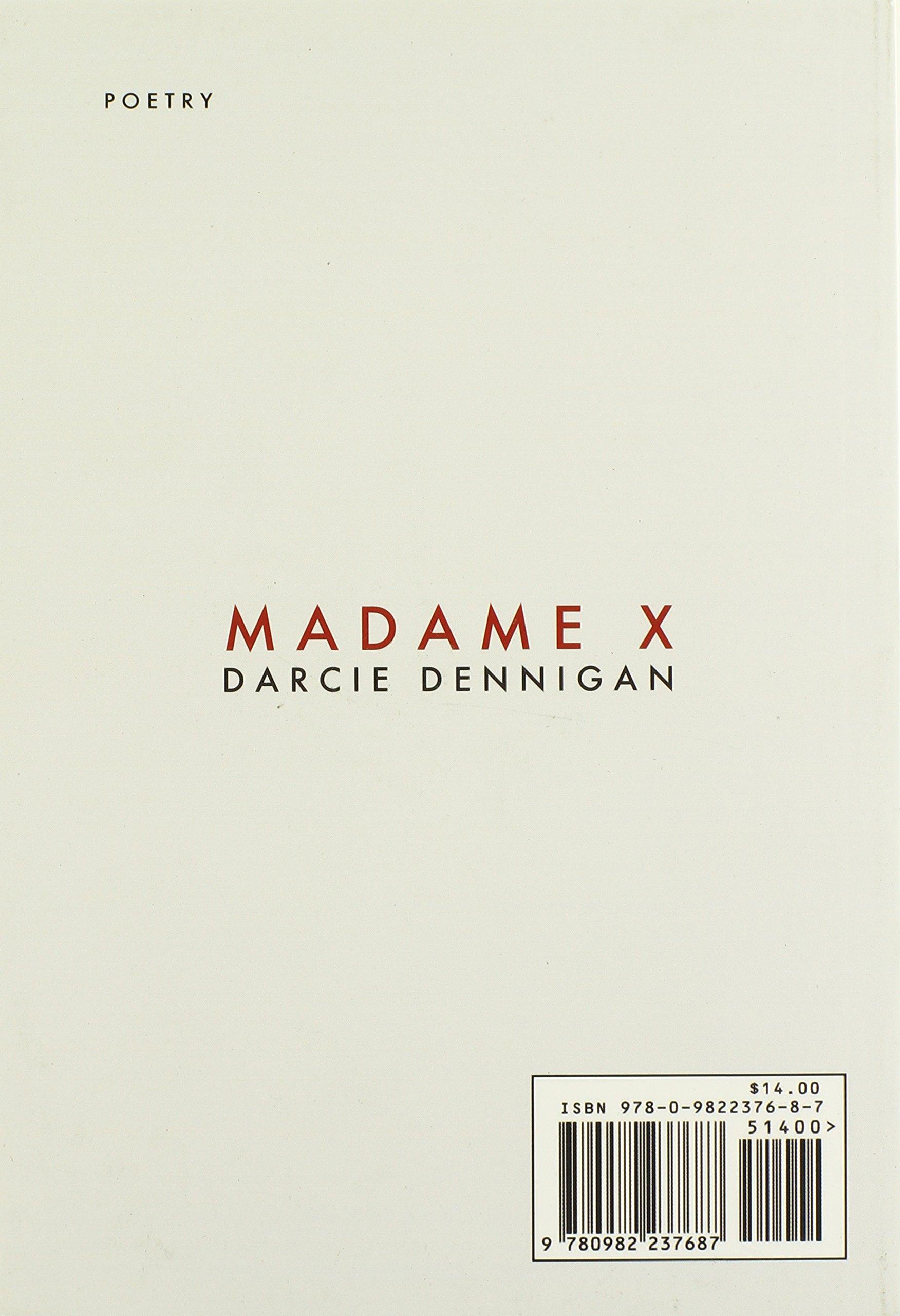 Image result for Darcie Dennigan, Madame X,