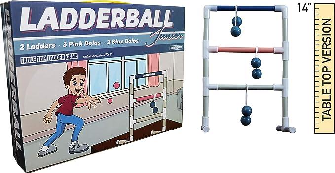 Towpath Juego Escalera Interior Lanza: Mesa Escalera Bola Junior Juego: Amazon.es: Deportes y aire libre