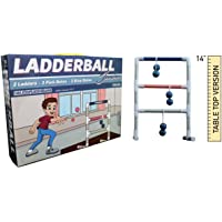Towpath Gaming Indoor Ladder Toss: Tabletop Ladder Ball Junior Game