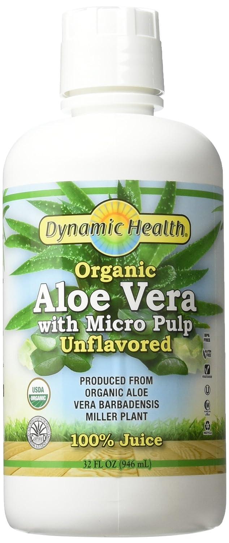Jugo de Aloe Vera con la pulpa Micro - Dynamic Health ...