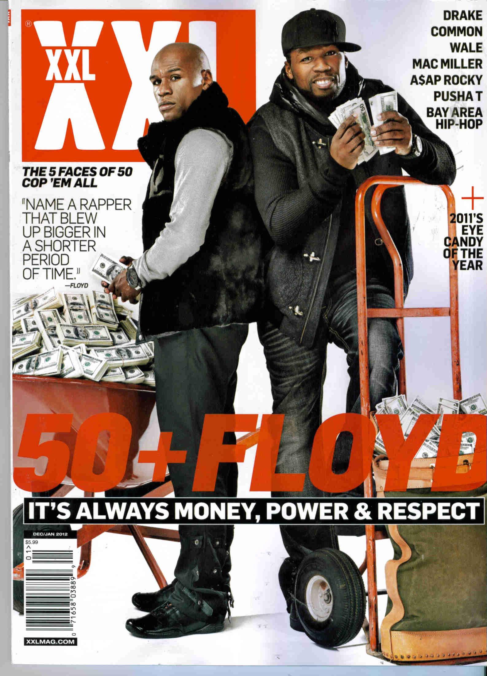 Download XXL Magazine (Dec/Jan 2012) 50+ Floyd: It's Always Money, Power, & Respect pdf epub