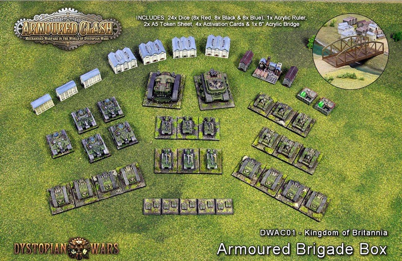 Kingdom of Britannia ArmouROT ArmouROT ArmouROT Brigade Box d69774