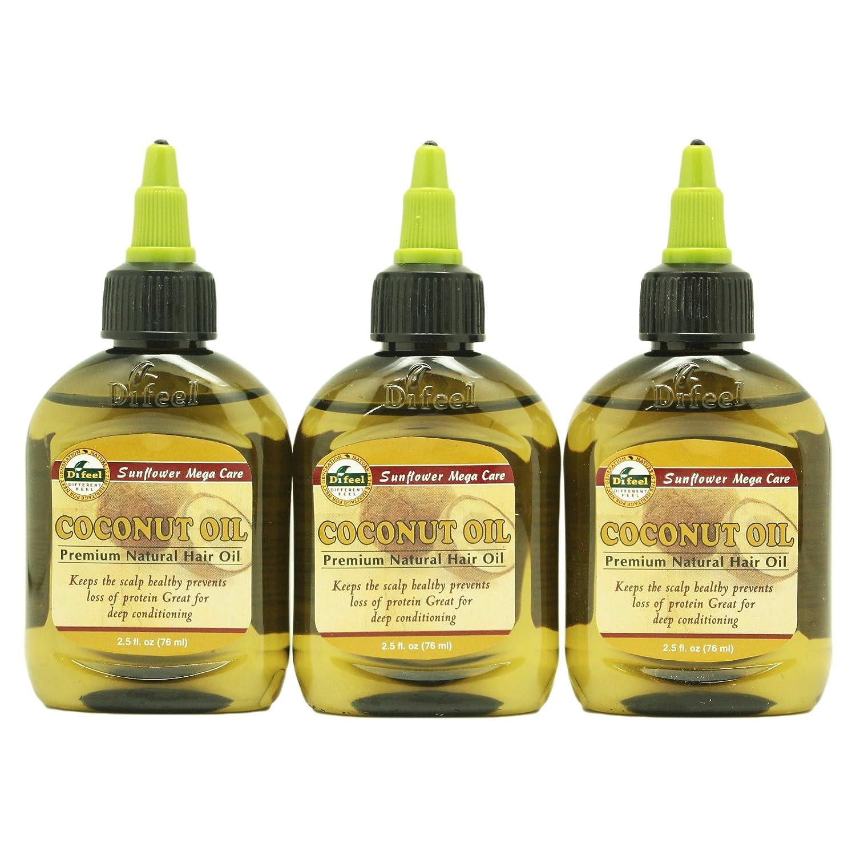 Difeel Premium Natural Hair Care Oil, Coconut