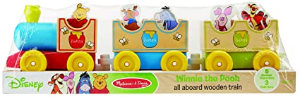 Amazon.com: Melissa & Doug Disney Baby Winnie the Pooh All Aboard ...