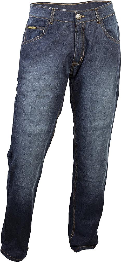 ScorpionExo Covert Pro Jeans Mens Reinforced Motorcycle Pants Wash, Size 32