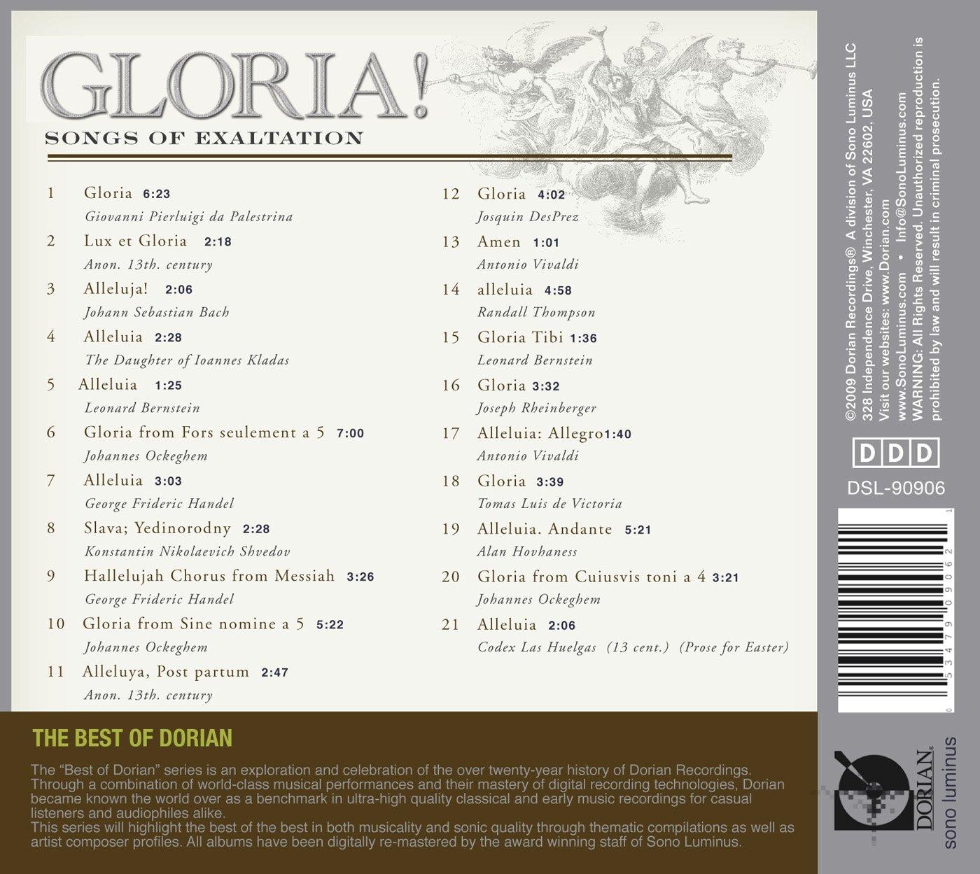 Gloria! Songs Of Exaltation by Tibi