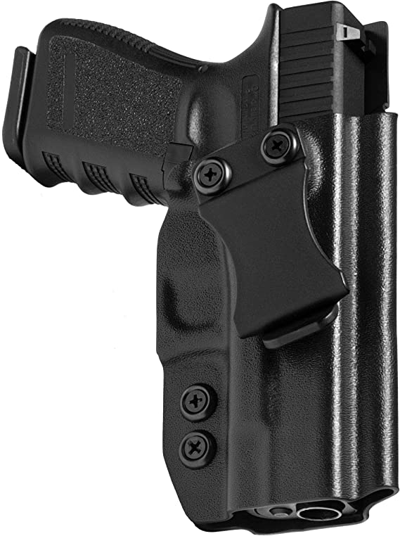 Concealment Express IWB KYDEX Holster (Black) - Inside Waistband - Adj. Cant & Posi-Click Retention - Claw Compatible - 100% US Made