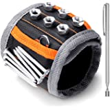 HORUSDY Magnetic Wristband,with Strong Magnets for Holding Screws, Nails, Drilling Bits, of The Best Christmas Day Tools…
