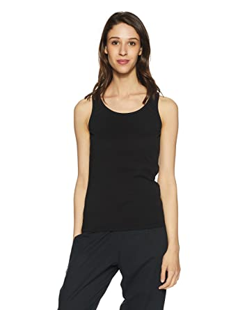19b19e48dad Jockey Women's Cotton Tank Top (Black)