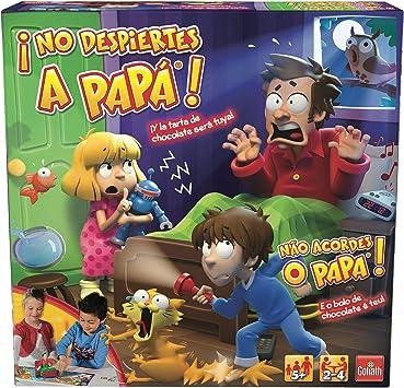 Goliath-¡No Despiertes a Papá-Juego de Mesa Infantil 70.581, 26.9 x 26.7 x 8.4 (118-70581): Amazon.es: Juguetes y juegos