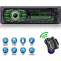 X-REAKO Radio Coche Autoradio Bluetooth Apoyo de Reproductor
