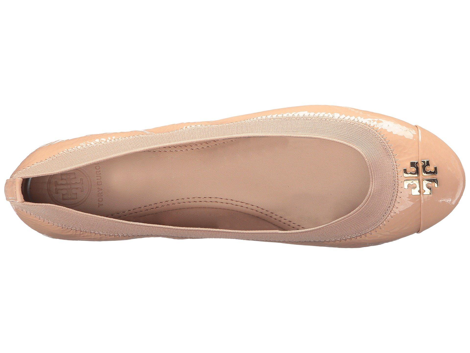 Tory Burch Jolie Ballet Flat (8 B (M) US, Light Oak) by Tory Burch (Image #9)