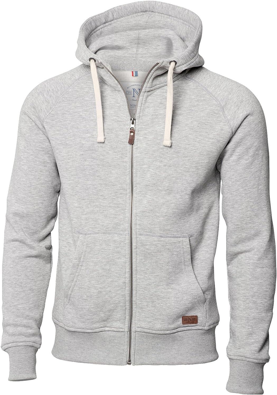Nimbus Williamsburg Fashionable Mens Hooded Sweatshirt 4 Colours//Sml 4XL
