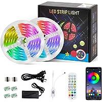 LED Strips Lights Led Lights 10m   Led Strip Lights with Remote 10m Music Sync   10m led Strip Lights for Bedroom