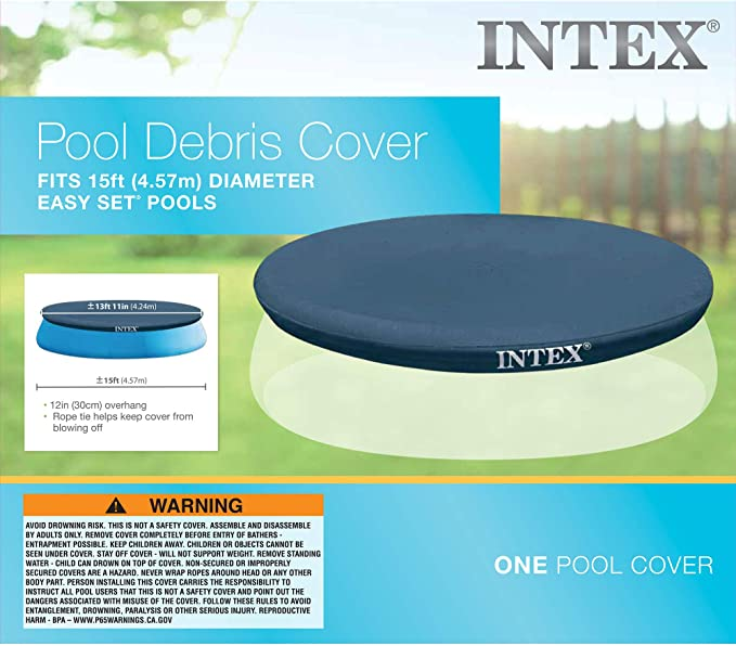 Intex 28023 - Cobertor piscina hinchable Easy Set 457 cm: Amazon.es: Jardín