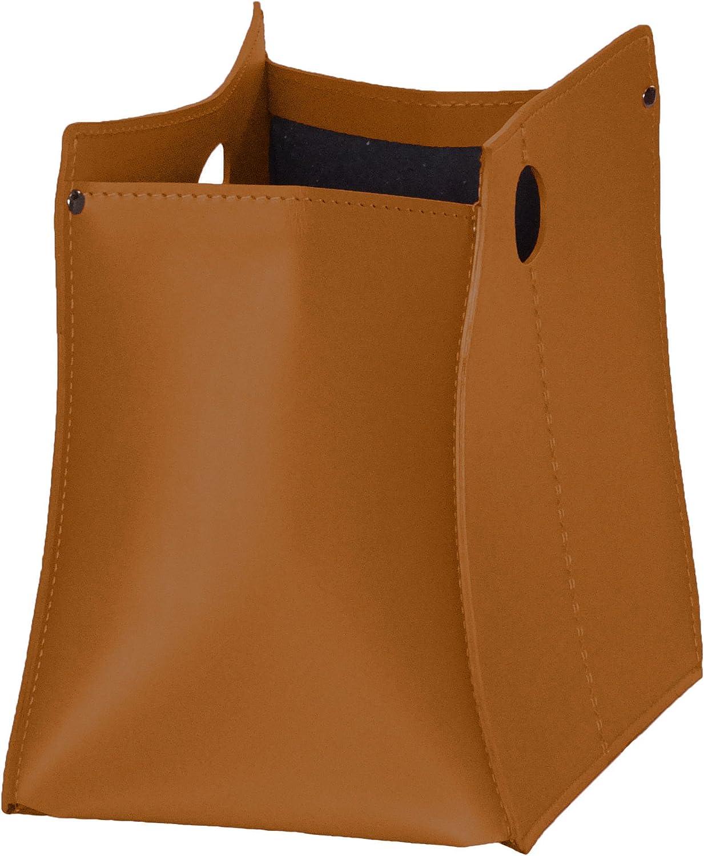 VANDA Made in Italy portariviste in cuoio colore Marrone