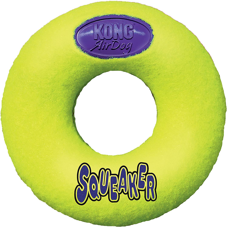 KONG Air Dog Squeaker Donut Dog Toy Medium